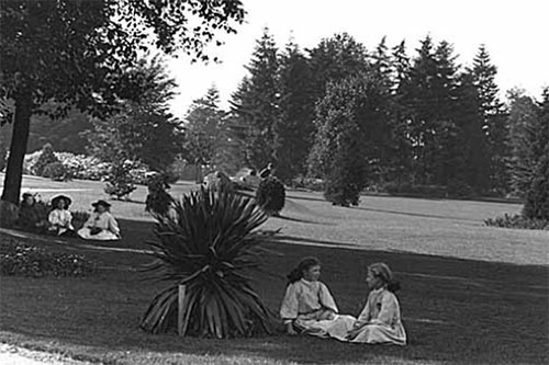 Volunteer Park, circa 1912. Courtesy Museum of History & Industry.